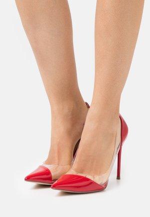 MARJORIE - Classic heels - red