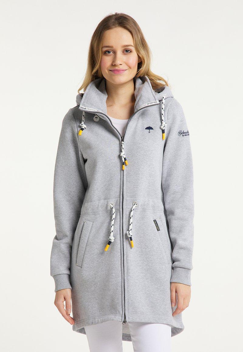 Schmuddelwedda - Zip-up sweatshirt - hellgrau melange