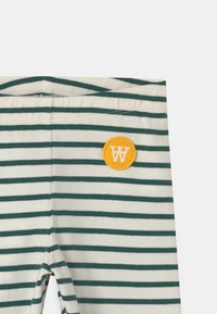 Wood Wood - IRA UNISEX - Legíny - off-white/faded green - 2