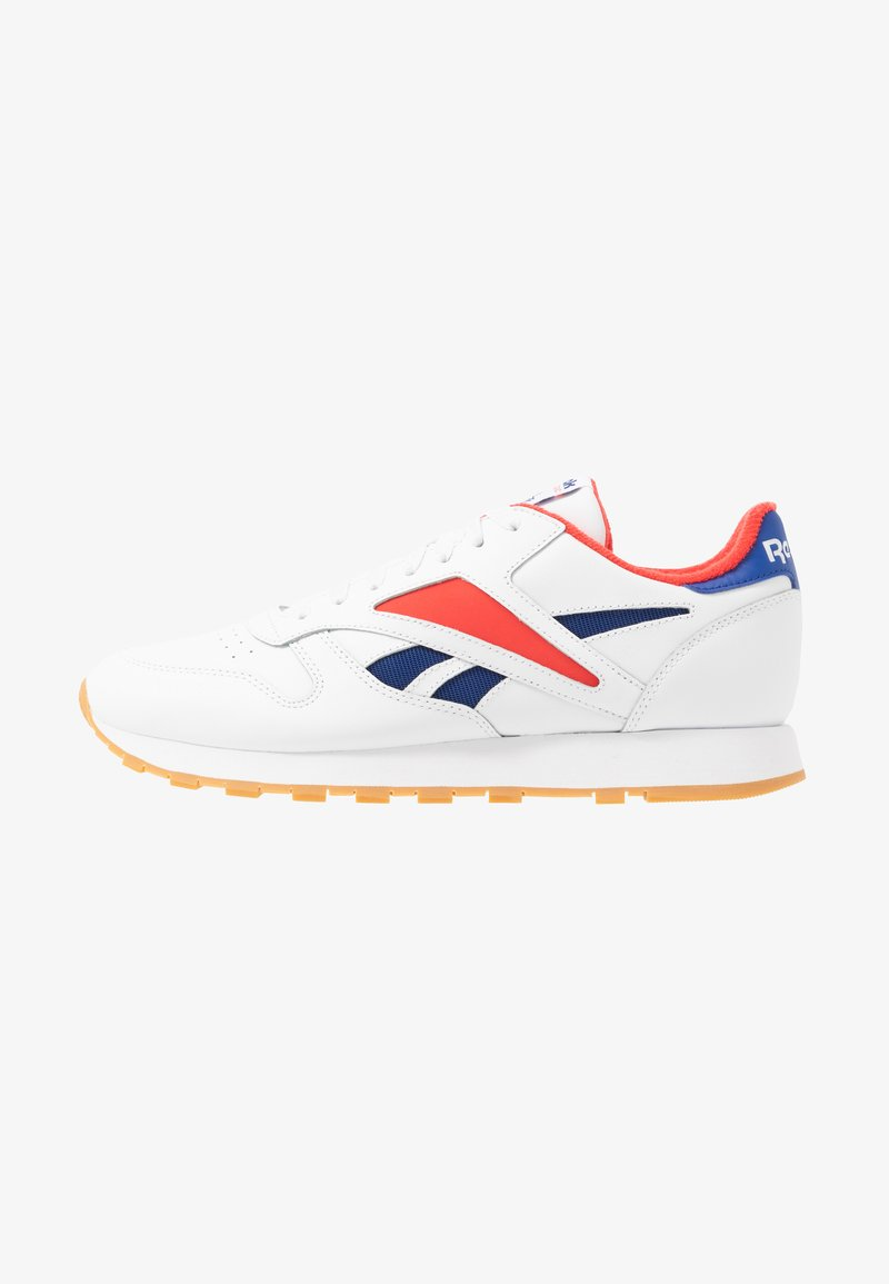 Reebok Classic - CL MARK - Sneakers laag - white/radiant red/collegiate navy