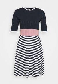 edc by Esprit - STRIPE DRESS - Jumper dress - navy - 0