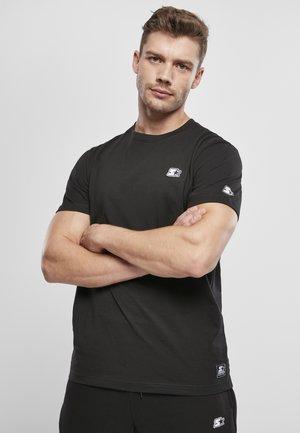 HERREN STARTER ESSENTIAL - Print T-shirt - black