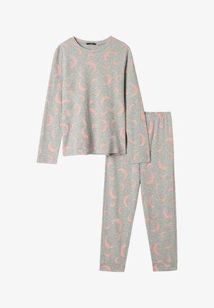 Pyjama -  light grey blend moon print
