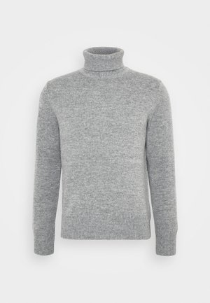 TURTLENECK JUMPER - Strikpullover /Striktrøjer - grey medium