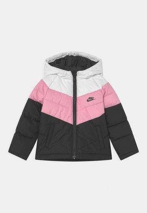 UNISEX - Winter jacket - black/pink