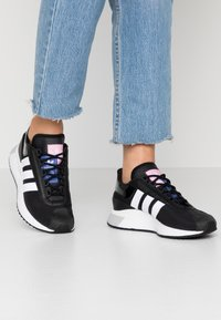 adidas Originals - SL ANDRIDGE - Trainers - core black/footwear white - 0