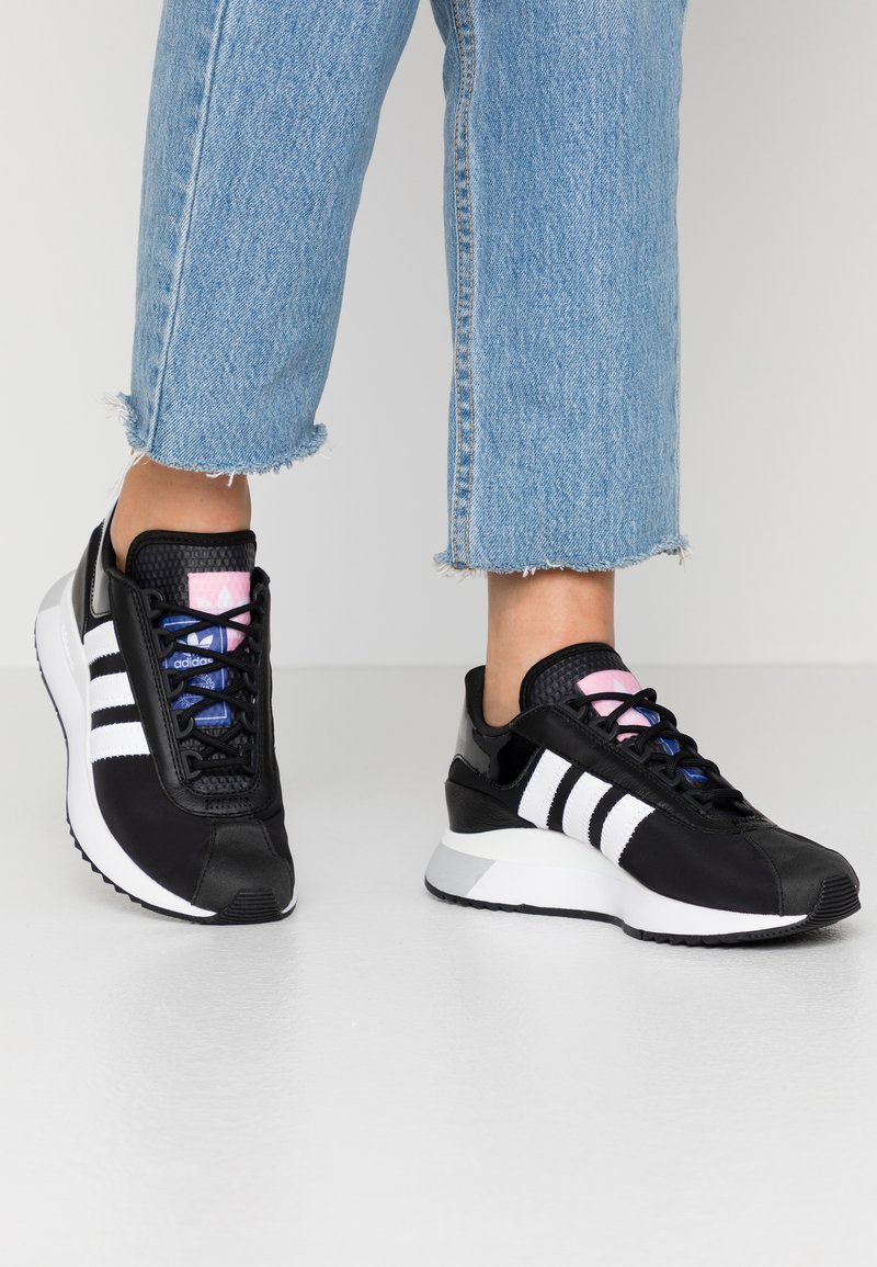 adidas Originals - SL ANDRIDGE - Trainers - core black/footwear white