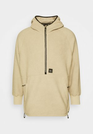 SHELBY SHERPA HOODIE - Sweat polaire - natural