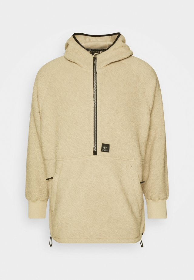 SHELBY SHERPA HOODIE - Felpa in pile - natural