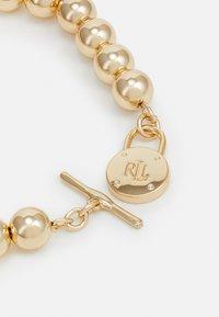 Lauren Ralph Lauren - BEADED PADLOCK - Bracelet - gold-coloured - 1
