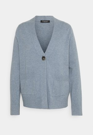 Cardigan - dusty blue