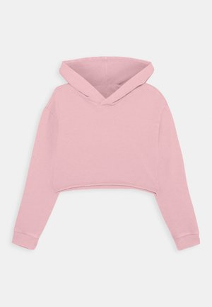 GIRLS BOXY HOODIE - Jersey con capucha - dusty rose