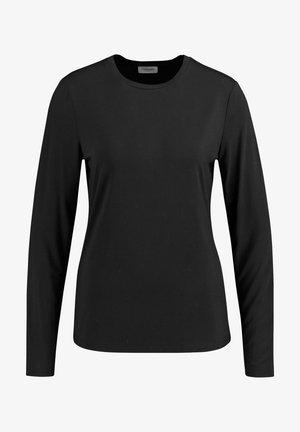 LANGARM - Long sleeved top - schwarz