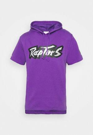 NBA TORONTO RAPTORS GAMEDAY HOODY - Jersey con capucha - purple/raptors purple