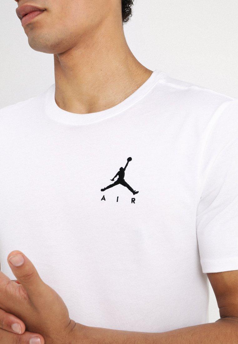Jordan JUMPMAN AIR TEE - Basic T-shirt - white/black iEWXE