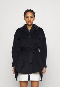 maje - GAVINO - Klasický kabát - marine - 0