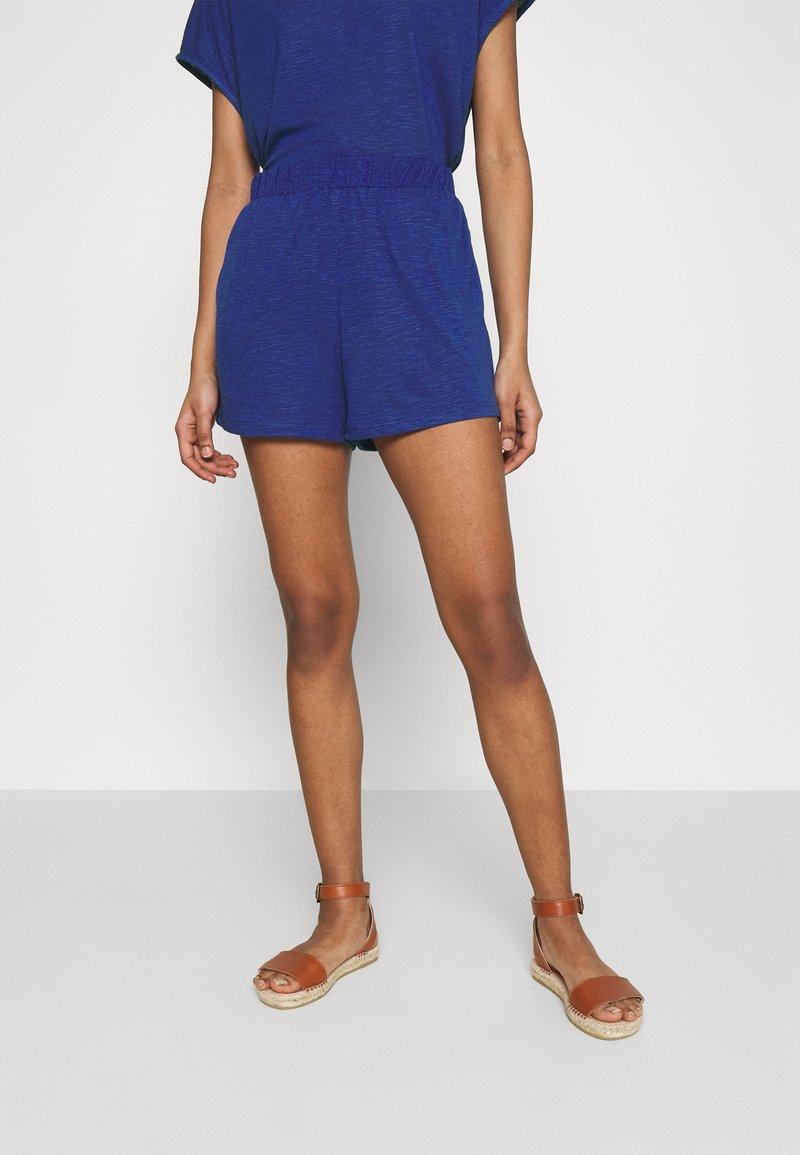 Vila - VINOEL - Shorts - mazarine blue