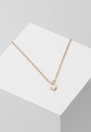 NEMARRA NANO HEART CHOKER - Halskette - rose gold-coloured