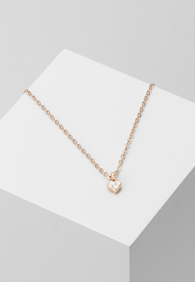 NEMARRA NANO HEART CHOKER - Collier - rose gold-coloured
