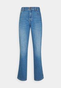 TEXAS - Jeans straight leg - heat rage