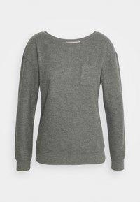 Hunkemöller - PANT BRUSHED SET - Pyjama set - mid grey - 1