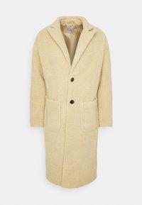 MABEL LONGLINE BORG OVERCOAT - Classic coat - ecru