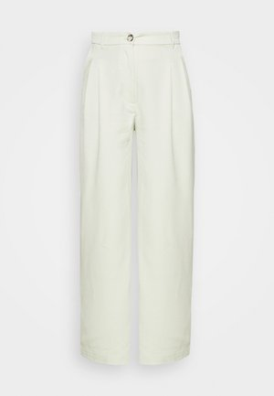 GINNY TROUSERS - Trousers - green dusty light