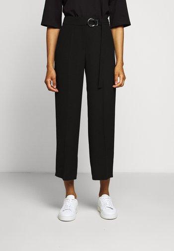 HEDAYA - Trousers - black