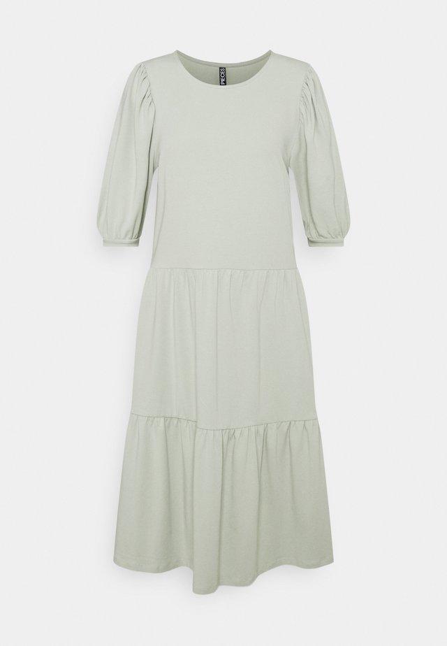 PCTERESE DRESS TALL - Jerseyjurk - desert sage