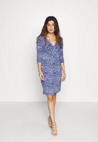 Lauren Ralph Lauren Petite - CLEORA - Shift dress - black/blue/multi - 1