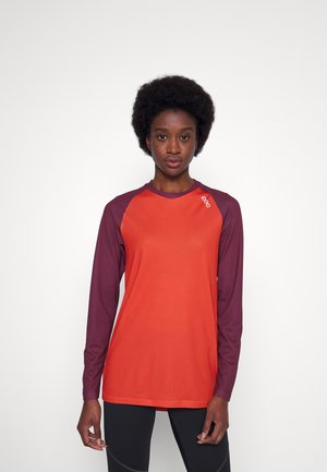 PURE - Longsleeve - red/agate red