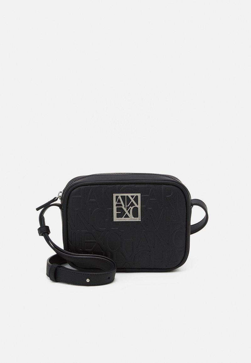 Armani Exchange - CAMERA CASE WOMAN CAMERA CASE - Across body bag - nero