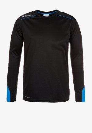 TOWER - Goalkeeper shirt - black/blue