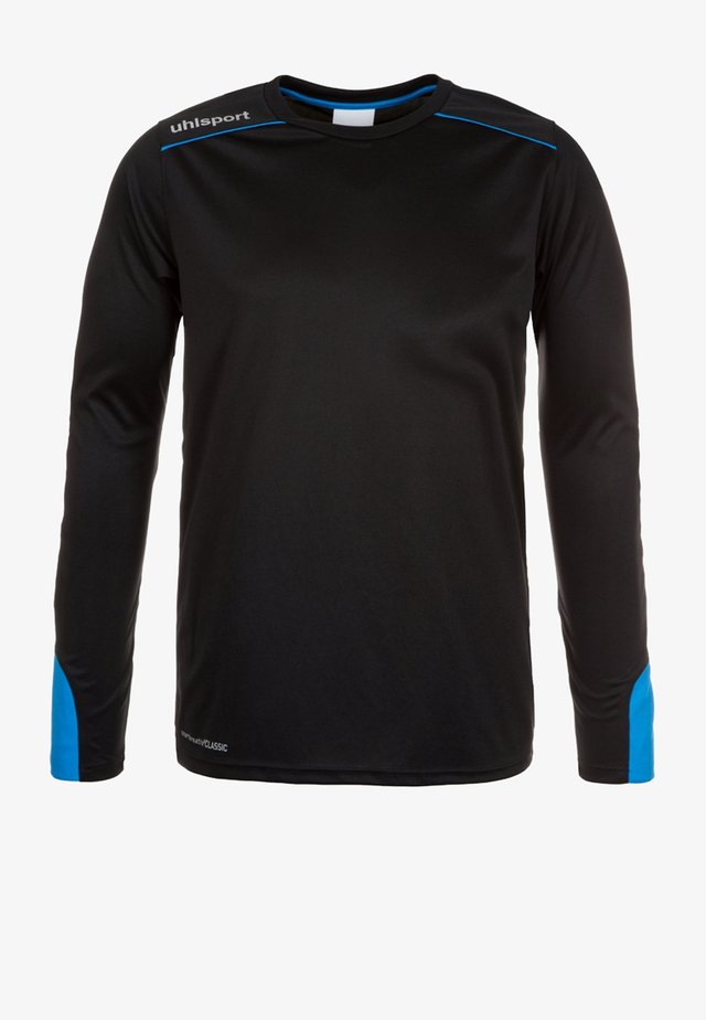 TOWER - Goalkeeper shirt - black/blue