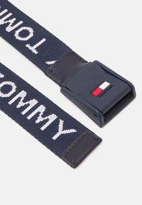 Tommy Hilfiger - BELT UNISEX - Pásek - blue - 1