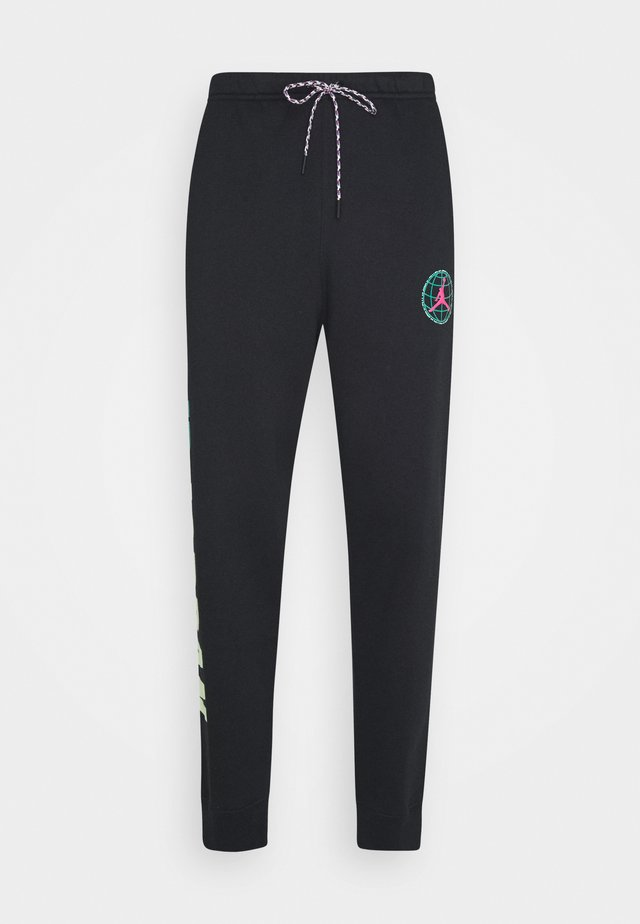 MOUNTAINSIDE PANT - Tracksuit bottoms - black