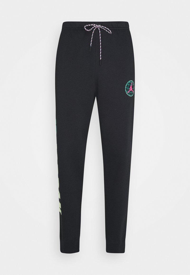 Jordan - MOUNTAINSIDE PANT - Teplákové kalhoty - black