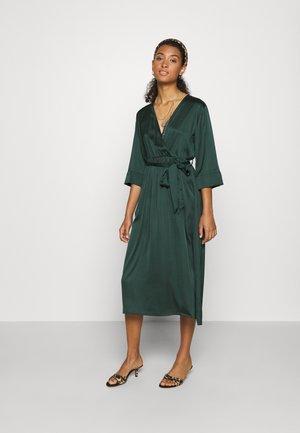 OBJALINA 3/4 DRESS - Day dress - scarab
