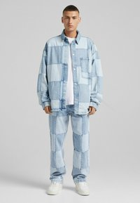 Bershka - 90'S HACK - Jeans relaxed fit - blue denim - 1