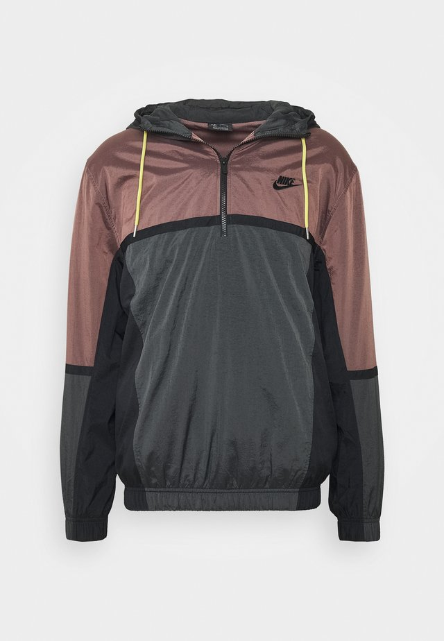 Windbreaker - smokey mauve/dark smoke grey/black