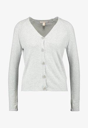 CARDIGAN - Strickjacke - medium grey