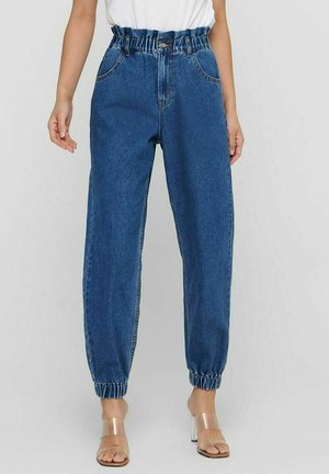HIGH WAIST ONLOVA LIFE CARROT - Relaxed fit jeans - medium blue denim