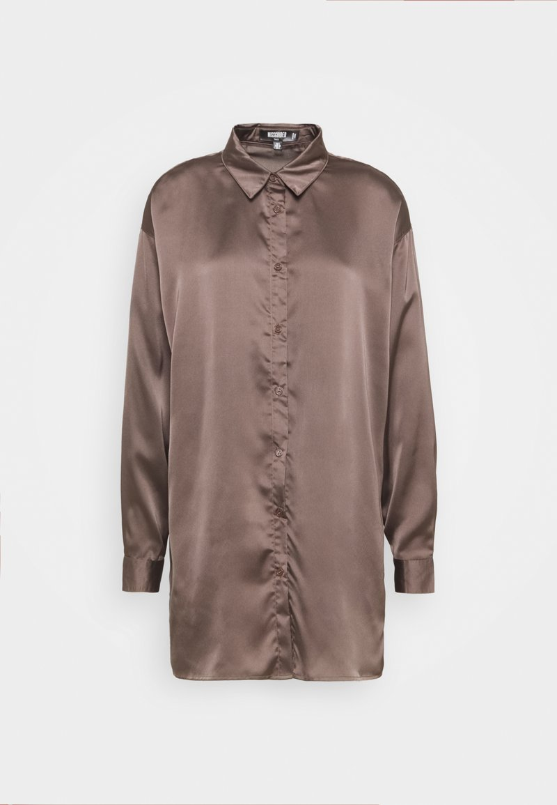 Missguided Tall - OVERSIZED - Blouse - brown
