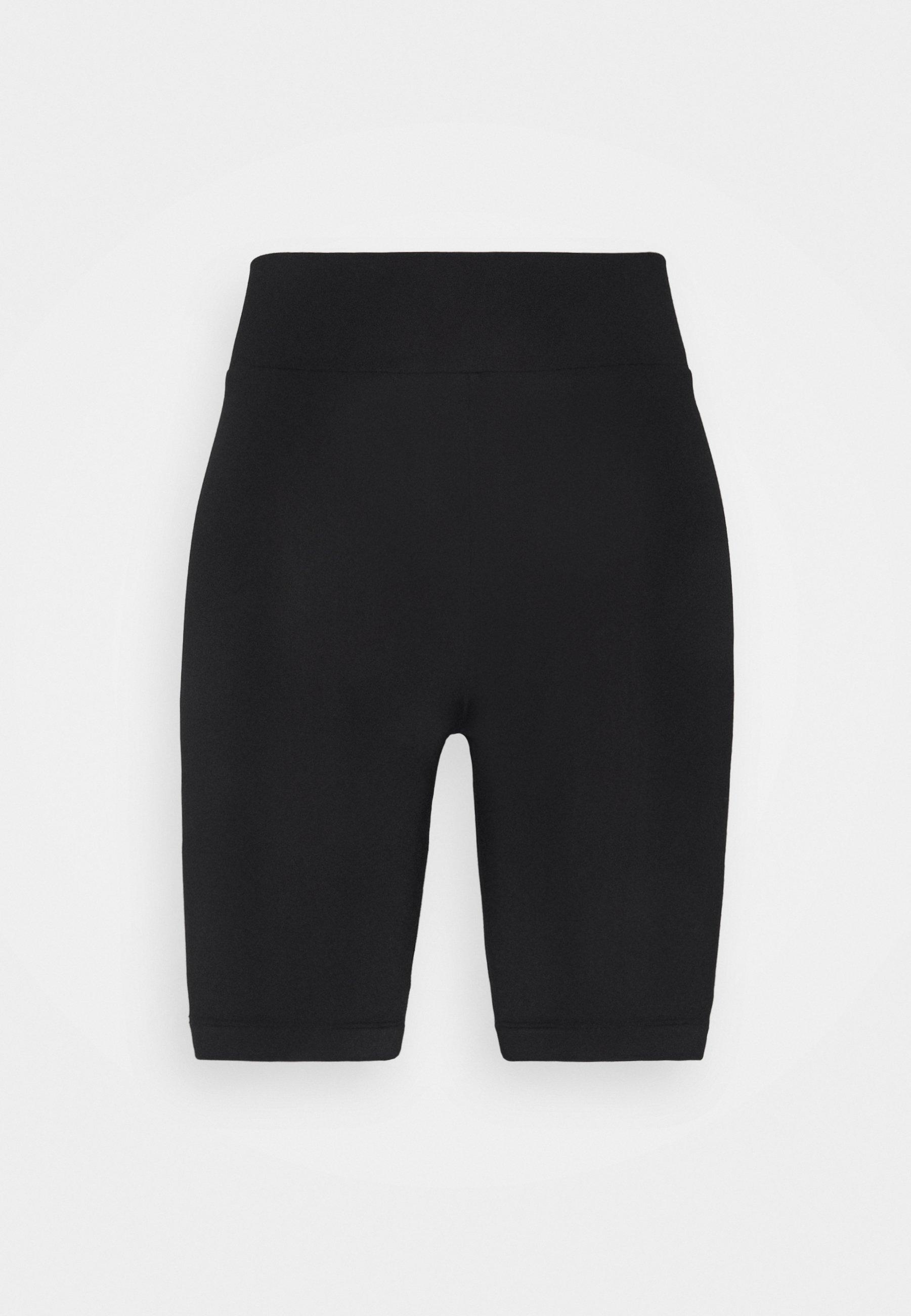 Femme PIPER BIKER PANTS - Short - black