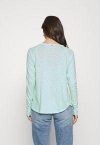 Rich & Royal - HEAVY LONGSLEEVE - Long sleeved top - jade mint - 2