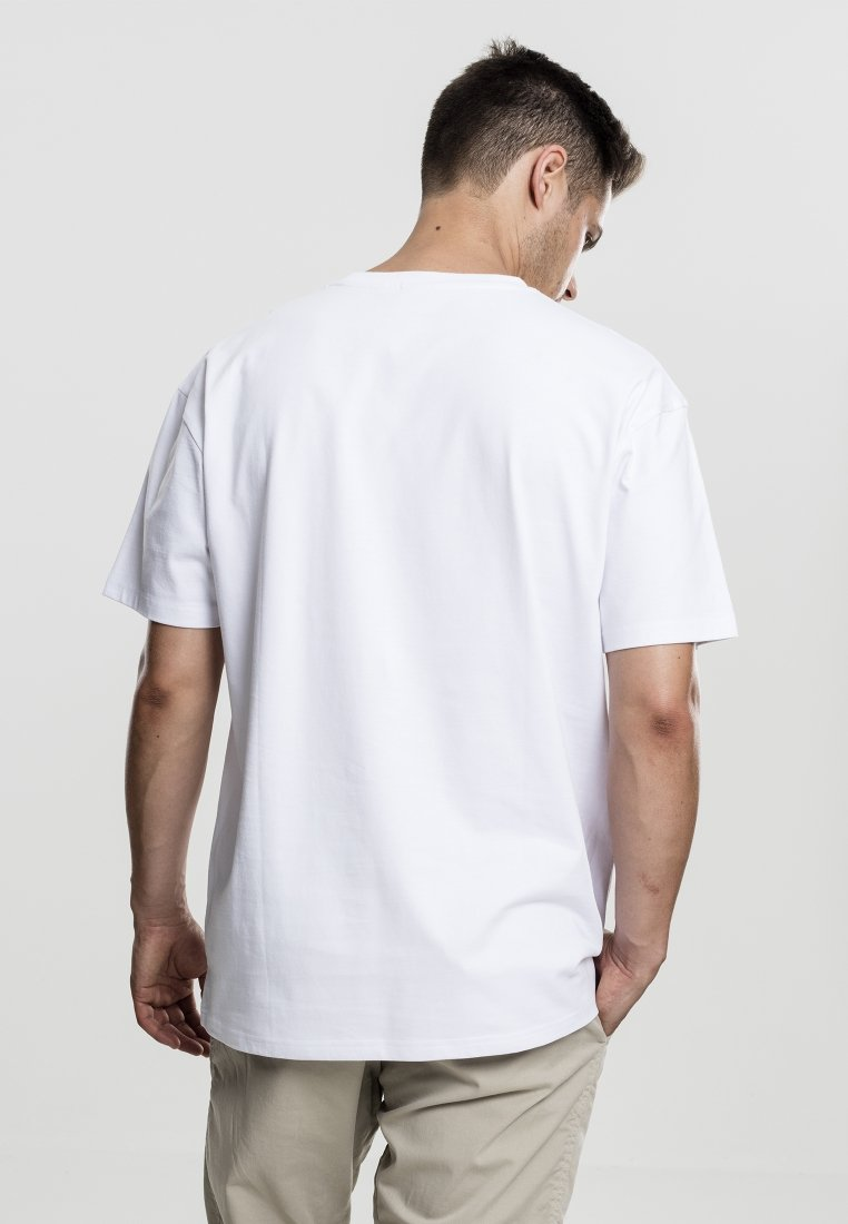 Urban Classics - HEAVY OVERSIZED TEE - Basic T-shirt - white