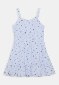 Abercrombie & Fitch - TIERED DRESS - Day dress - blue - 0