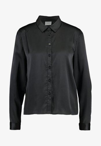 JDYFIFI LIFE SHORT SHIRT - Button-down blouse - black