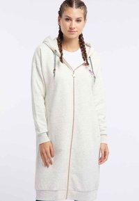 myMo - Zip-up hoodie - wool white - 0