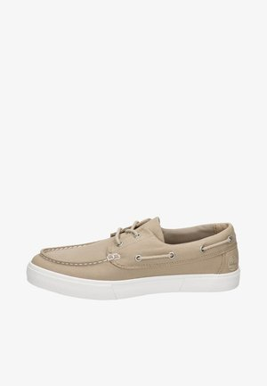 UNION WHARF  - Boat shoes - beige